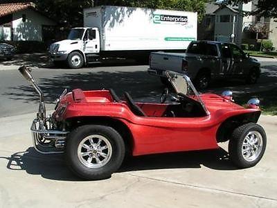 Volkswagen : Other Dune Buggy 1971 volkswagen dune buggy manx body 1600 cc 60 hp low miles, 1