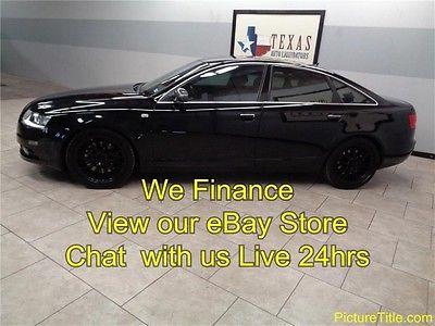 Audi : A6 4.2L V8 AWD 07 a 6 s line awd quattro 4.2 v 8 gps navi backup camera we finance texas