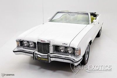 Mercury : Cougar XR7 Convertible 351 cobra jet v 8 power convertible power steering air conditioning