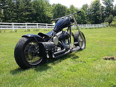 Custom Built Motorcycles : Bobber Bobber Custom INSANE cycle built by Johnny Goodson