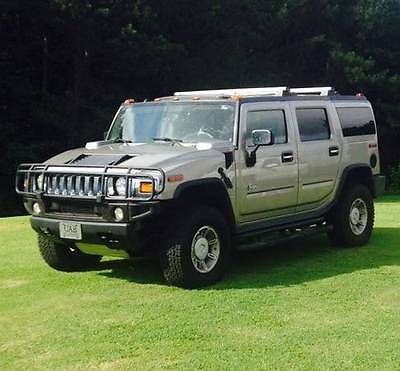 Hummer : H2 Grey Hummer H2 Grey 65K miles Sunroof 2003 year Leather power New Tires