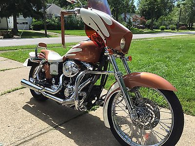 Harley-Davidson : Dyna 04 harley davidson dyna wide glide custom