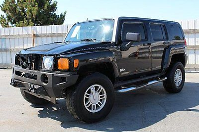 Hummer : H3 Base Sport Utility 4-Door 2007 hummer h 3 4 wd damaged rebuilder salvage priced to sell nice unit wont last