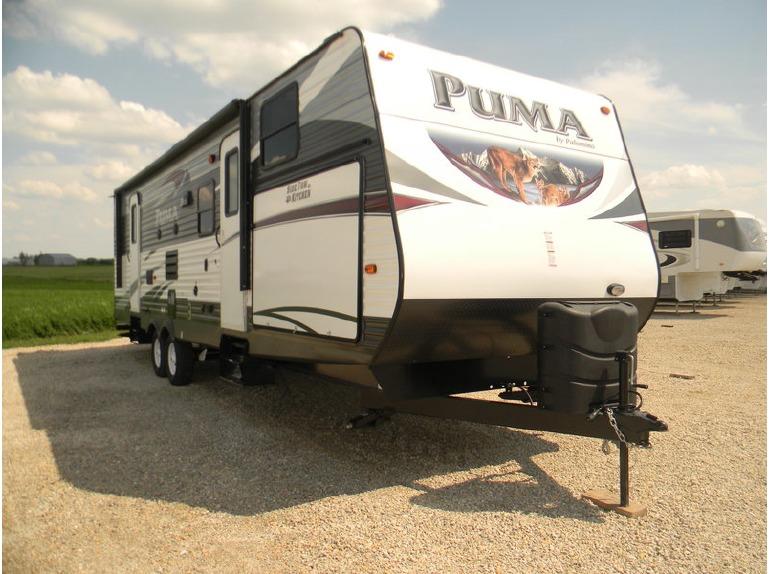 2016 Palomino Puma Travel Trailer 30 FBSS