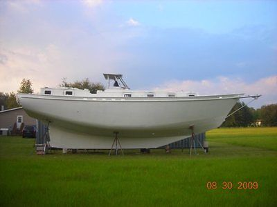 43' Steel Sailboat Hull for finishing and bluewater cruising.