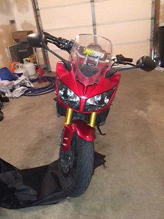 Yamaha : FZ 2006 yamaha red fz 1 1000 cc