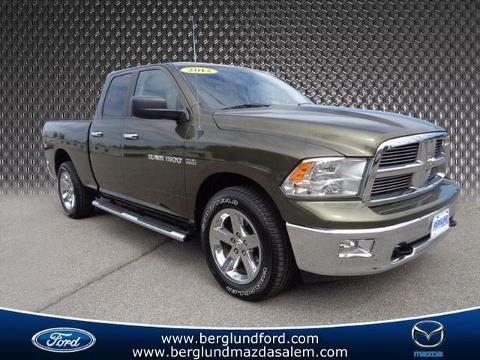 2012 RAM 1500 4 DOOR CREW CAB SHORT BED TRUCK