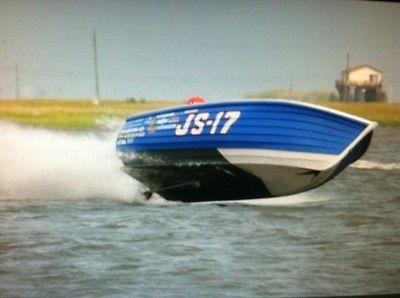 16' Jersey Speed Skiff , drag boat V-drive , performance boat , hot boat
