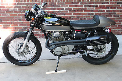 Honda : CL 1972 honda cl 350 cafe build