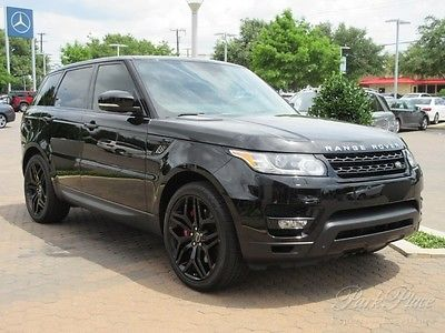 Land Rover : Range Rover Sport Autobiography 2014 v 8 4 wd nav backup camera heated cooled seats dvd bluetooth