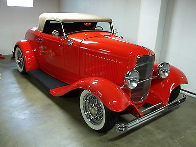 Ford : Other Convertible 1932 ford all steel dearborn deuce convertible