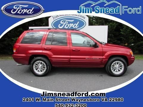 2002 JEEP GRAND CHEROKEE 4 DOOR SUV