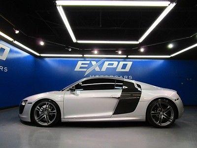 Audi : R8 V10 Audi R8 V10 Quattro Coupe Carbon Fiber Navigaion Bang Olufsen Cam Heated Seats