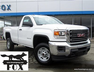 GMC : Sierra 2500 2500HD 4WD Reg Cab Long Box NEW 2500HD 4X4 *pwr windows/locks*cruise*rear camera*spray-on liner* 9002N