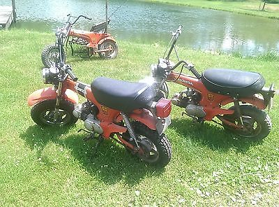 Honda : CT HONDA CT70  MINI TRAIL BIKE Barn Finds 3 bikes Lots New Exrta Parts RESTORE LOOK