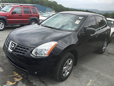 Nissan : Rogue S Sport Utility 4-Door Black on Black, Good Condition (no major dings or dints), Non-Smoker Vehicle