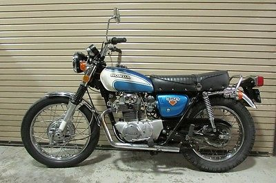 Honda : CL 73 honda cl 350 scrambler mostly original serviced ready to go