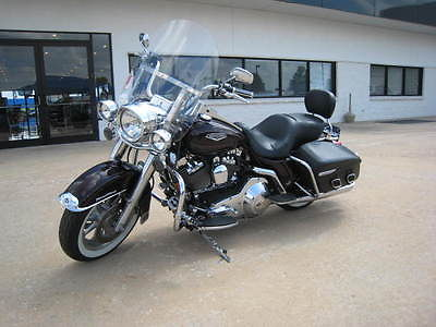 Harley-Davidson : Touring 05 hd road king 1450 cc 88 cu in custom seat detachable windshield chrome acc