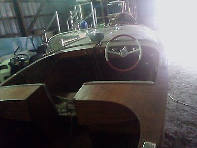 1966 Chris Craft 14' boat from kit