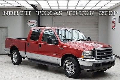 Ford : F-250 Lariat 7.3L 2002 Lariat Leather Crew 2002 ford f 250 diesel 2 wd lariat leather crew cab 1 texas owner