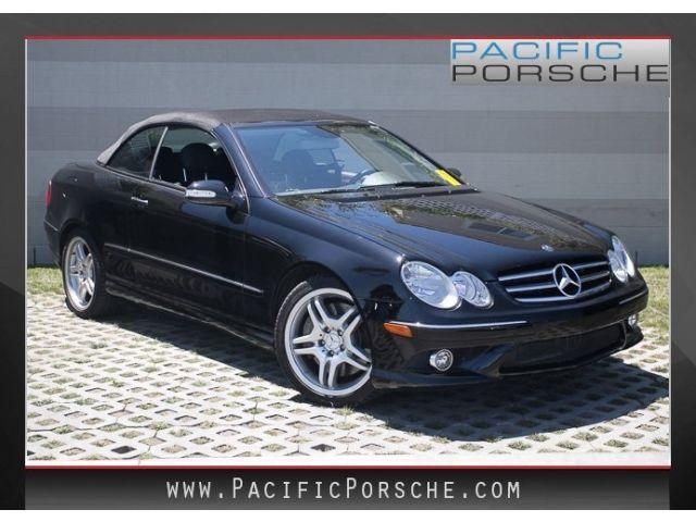 Mercedes-Benz : CLK-Class CLK550 CLK550 Convertible 5.5L CD Heated Front Bucket Seats Leather Upholstery Spoiler