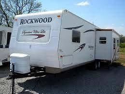2008 33' Rockwood Signature Ultra Light w/slide