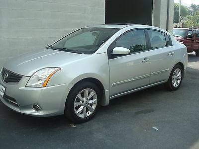 Nissan : Sentra SL Sedan 4-Door 2012 nissan sentra sl navigation leather sunroof 5 year warranty