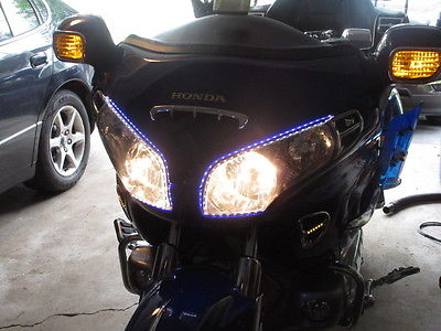 Honda : Gold Wing HONDA GOLDWING. 2001 WITH  34.500 miles AND  COLLAPSIBLE TRAILOR