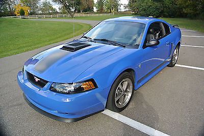 Ford : Mustang Mach I Coupe 2-Door 2003 mach 1 mustang azure blue
