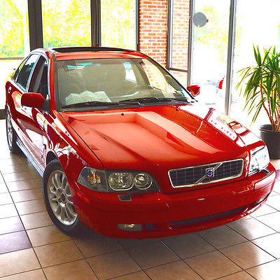 Volvo : S40 1.9t Sport RARE SPORT PACKAGE Southern Car LOW MILEAGE Rare Options WELL MAINTAINED 50 Pics