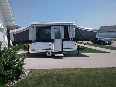 2002 Coleman Sea Pine Pop Up Camper Sleeps 8 VERY NICE!