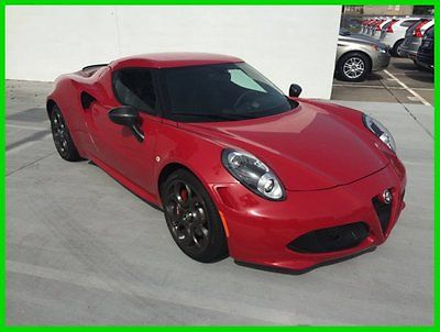 Alfa Romeo : Other 4C Launch Edition 2015 alfa romeo 4 c 1 k miles launch edition like new call me today 713 553 8780