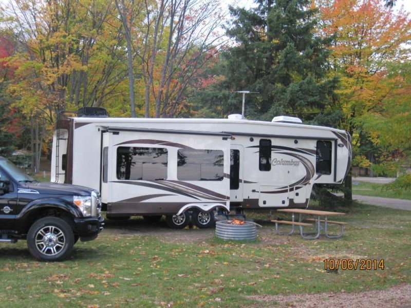 2013 Fifth Wheel Forest River Columbus 340RK