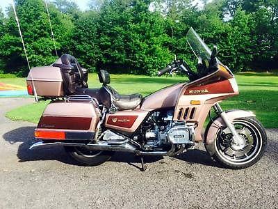 Honda : Gold Wing 1986 honda gl 1200 a goldwing aspencade