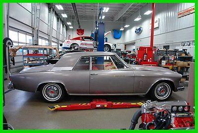 Studebaker : GT Hawk 1962 gray studebaker 289 v 8 auto transmission 36 k miles red interior
