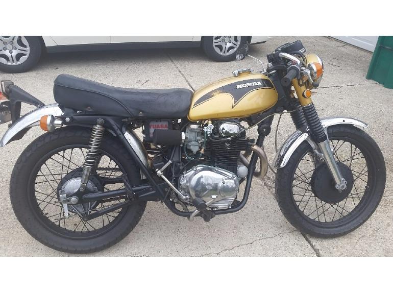 1971 Honda Cb 350