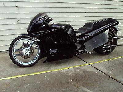 Custom Built Motorcycles : Other kawasaki  drag race model pro built to win car tire