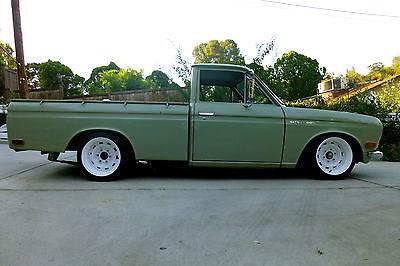 Datsun Other 1972 521 Pickup Truck All Original Patina Restro Mod Slammed