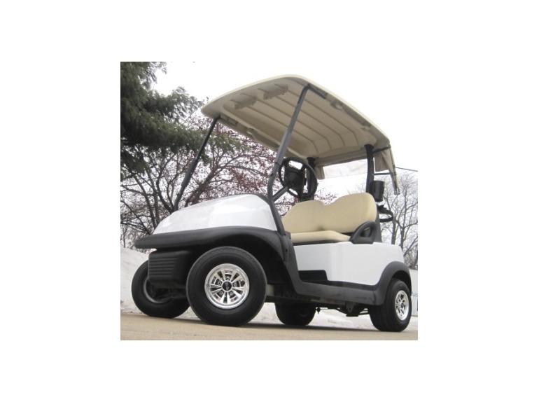 2011 Gsi 48V Club Car Golf Cart - White Moon Edition