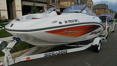 2006 Sea-Doo Challenger 180 W/215HP ONLY 118.5 HOURS! Rotax Seats 8!