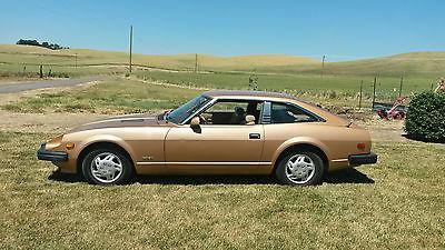 Datsun : Z-Series ZX 1979 gold nissan datsun 280 zx good condition
