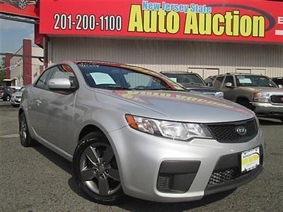 Kia : Forte Koup EX 10 kia forte ex coupe carfax certified 1 owner sunroof alloy wheels 5 speed used