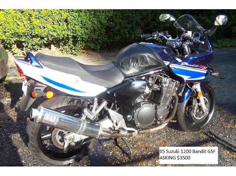 2005 Suzuki Bandit 1200