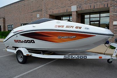 2005 Seadoo Challenger 1800 Open Bow Rider Jet Boat. 8 person SWEET 1 OWNER BOAT