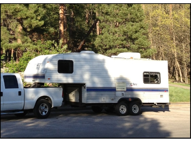 1996 Terry 21' Travel Trailer