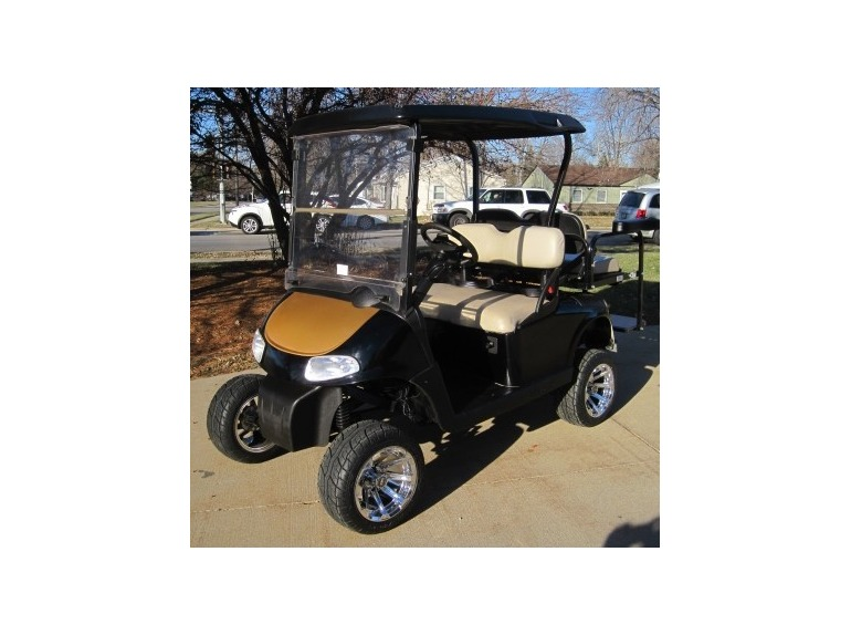 2011 Gsi EZGO Gas Golf Cart RXV 13 hp Kawasaki with Custom Color