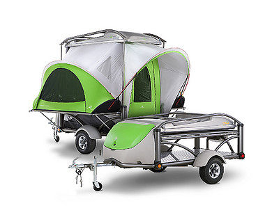 2011 SylvanSport Go - Pop Up Camper and Utility/Motorcycle Trailer in one - Cool