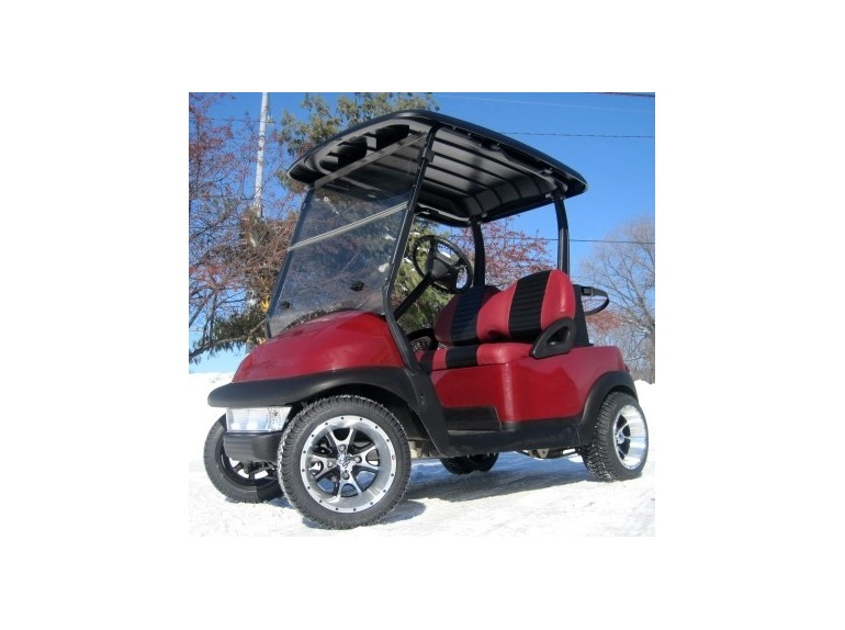 2011 Gsi 48V Club Car Precedent Golf Cart w/ SS Rims and Tires