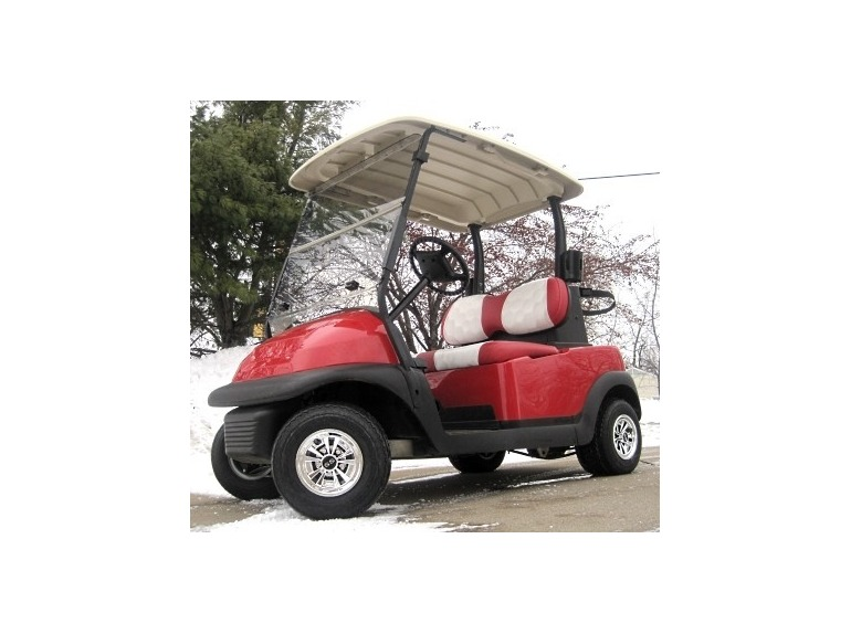 2011 Gsi 48V Club Car Precedent Golf Cart w/ Golf Ball Seats