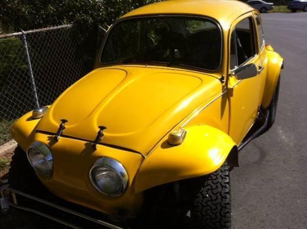 1970 VW Baja Bug auto stik